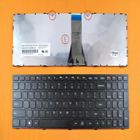 Replacement Black US Layout Laptop Keyboard for Lenovo G50-30 G50-45 G50-70