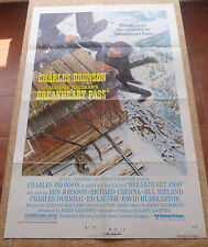 Breakheart Pass Movie Poster, Original, Folded, One Sheet, Style B, 1976, U.S.A.