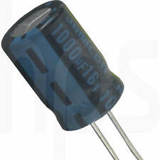 8 Elko Elektrolytkondensator Kondensator 1000µF 16V 105°C  Ø 10 H 15mm lose
