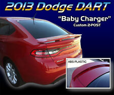 FITS DODGE DART 2013-2016 BOLT-ON REAR TRUNK SPOILER PAINTED (P)