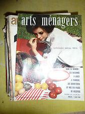 alte Zeitschriften Arts Haushalt, Jahre 60, Magazin für Deko vintage