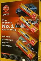 FORD PUMA 1.7mha ZETEC-S NGK SPARK PLUGS