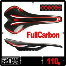 Merek MEGA DCS Full 3K Carbon Rail Saddle Seat ROAD Bike 110g New