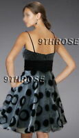 DRESS UP FAIRY! BLACK BEADED PARTY/COCKTAIL/EVENING/FORMAL SHORT DRESS AU 8/US 6