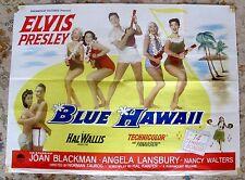 ELVIS PRESLEY Blue Hawaii - Original  UK Film Quad Poster
