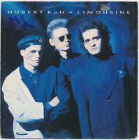 "HUBERT KAH   Limousine - 7"" Single 1986, Coverhülle SIGNIERT  hand signed"