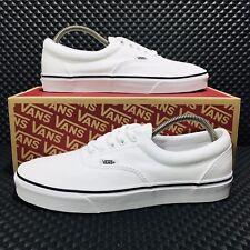Vans Era True White (Men's Size 8) Athletic Skate Casual Sneakers White Shoes