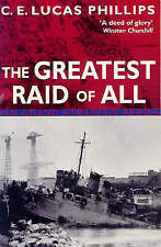 """""""NEW"""" E Lucas Phillips, C, The Greatest Raid of All (Pan Grand Strategy Series),"""