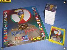 Panini★WM 2002 World Cup 02★complete set/Komplett-Satz + empty album/Leeralbum