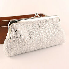Vogue Women Lovely Style Lady Wallet Hasp Sequins Purse Clutch Bag Handbags Gift
