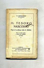 San Leonardo da Porto Maurizio # IL TESORO NASCOSTO # SEI 1930 Santa Messa Libro