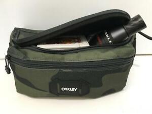 Oakley Street Belt Bag Men's Waist Pack 1 Size Adjustable Black Camo Blue Rberry