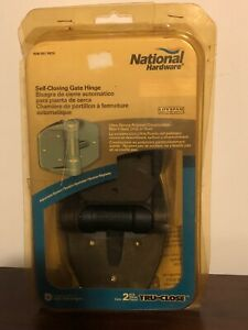National Hardware Self Closing Gate Hinge N346-593 Please Read Description
