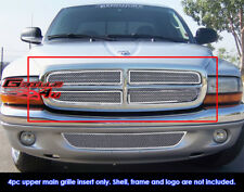 Fits Dodge Dakota/97-2003 Durango Stainless Steel Mesh Grill Insert-1997-2004