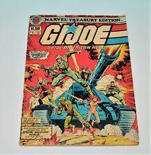 Vintage LARGE GI Joe Comic Book #1 Marvel Treasury Edition 1980s