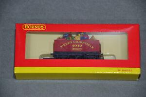 Brand New Hornby R6932 7 Plank Wagon Christmas 2019 In Box 00 Gauge (1:76) BNIB