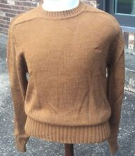 Izod Lacoste Vintage Mens Pullover Sweater Sz M Copper NWOT Alligator