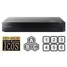 Sony BDP-S3500 WiFi MULTI REGION ALL REGIONS Free ABC DVD 1-8  Blu-Ray Player no