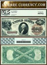 1880 $1 Legal Tender Note FR-29 Brown Seal PCGS EF40 PPQ