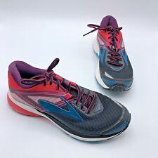 75a6f8b4a88 Brooks Ravenna 8 Women Black Pink Purple Running Shoe Size 7.5M Pre Owned