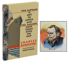 The Captain is Out CHARLES BUKOWSKI ~ First Edition SIGNED by ROBERT CRUMB 1998