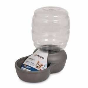 Replendish Plastic Mason Jar 1Gal Dog Bowl
