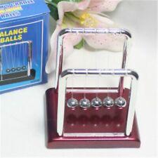 Newtons Cradle Steel Balance Ball Physics Science Pendulum Desk Toys Games