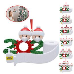 2021 Christmas Tree Ornament Quarantine Family Xmas Lockdown Decoration