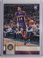 2016-17 Panini Excalibur Brandon Ingram Rookie Card RC #80 NMMT Lakers