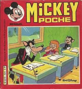 MICKEY POCHE N°104 . 1982 .