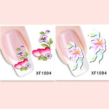 2Sheet/New Fashion Trend Beautifully Beautiful DIY Nail Stickers XF1004+1094