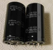 Condensatore elettrolitico 1000UF 450V 105° NICHICON