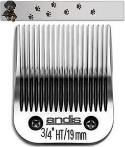 "Moser Max 45 1245 Andis Shaving Head 19 MM Ultra Edge "" New """