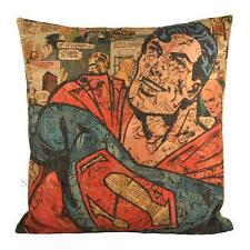 NW Cartoon Superman Animated Super Hero Decorative Pillowcase Cushion Cover Sham