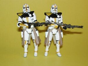 Star Wars TAC Betrayal on Felucia Clone Trooper Lot of 2 Loose