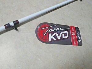LOT 2 KVD TEAM 7 FOOT MEDIUM HEAVY CASTING RODS