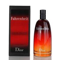 FAHRENHEIT Christian Dior men cologne edt 3.4 oz 3.3 NEW IN BOX