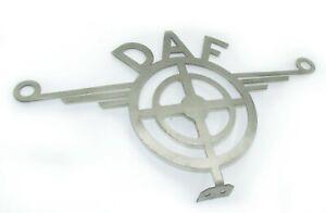 DAF DASH BADGE Trucks Chrome Badge Sign Metal  Stainless Steel