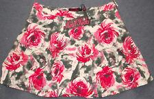 Motel Rocks Kadie Skirt Pink Flower Buzz Grey BNWT Size: Medium