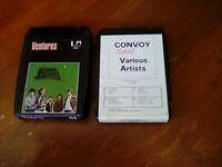 8 Track Tapes Lot Of 2