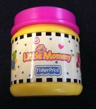 Vtg Fisher Price Play Food Pretend Little Mommy Baby Doll Food Bottle Accessory