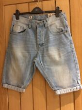 "Next Size 30"" denim shorts  - very loose fit"