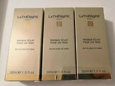 3 x La Therapie Revitalising Eye Mask 30ml Each - Full Size - New & Boxed (90ml)