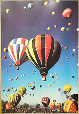 (PRL) MONGOLFIERE HOT-AIR BALLOONS VINTAGE AFFICHE POSTER ART PRINT COLLECTION