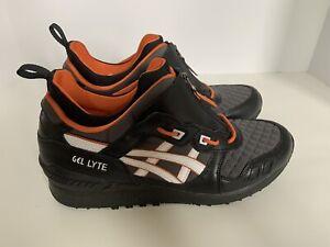 ASICS Tiger Men's Gel-Lyte MT Shoes 1191A143-001 Sz 10.5 Black/White/Orange New