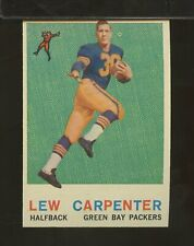 1959 Topps #95 LEW CARPENTER Green Bay Packers EXMT (DC18)