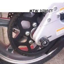 Honda CBR900 Fireblade 2000-2001 R&G rear wheel spindle swingarm sliders