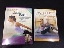 STOTT PILATES STRONG & HEALTHY BACK DVD EXERCISE  BACK PAIN & CORE