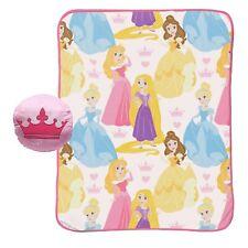 "Brand NEW Disney® Princesses Toddler 50""X40"" Blanket & Crown Pillow"