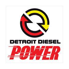 Detroit Diesel Power Logo Decal Vinyl Sticker 4 Stickers